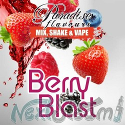 paradise flavours shake and vape - berry blast 10ml (50ml)
