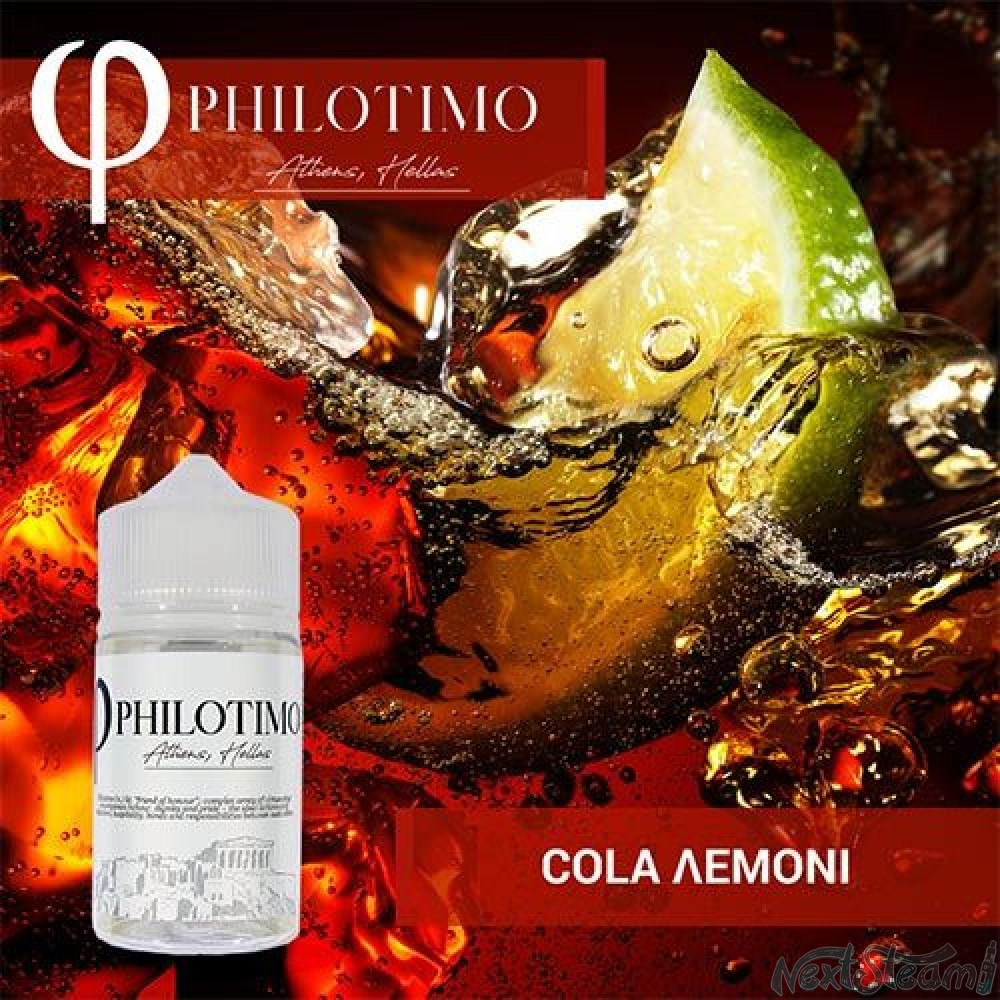 philotimo liquids - cola and lemon 30/60ml