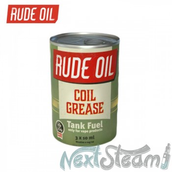 rude oil - coil grease 3x 10ml