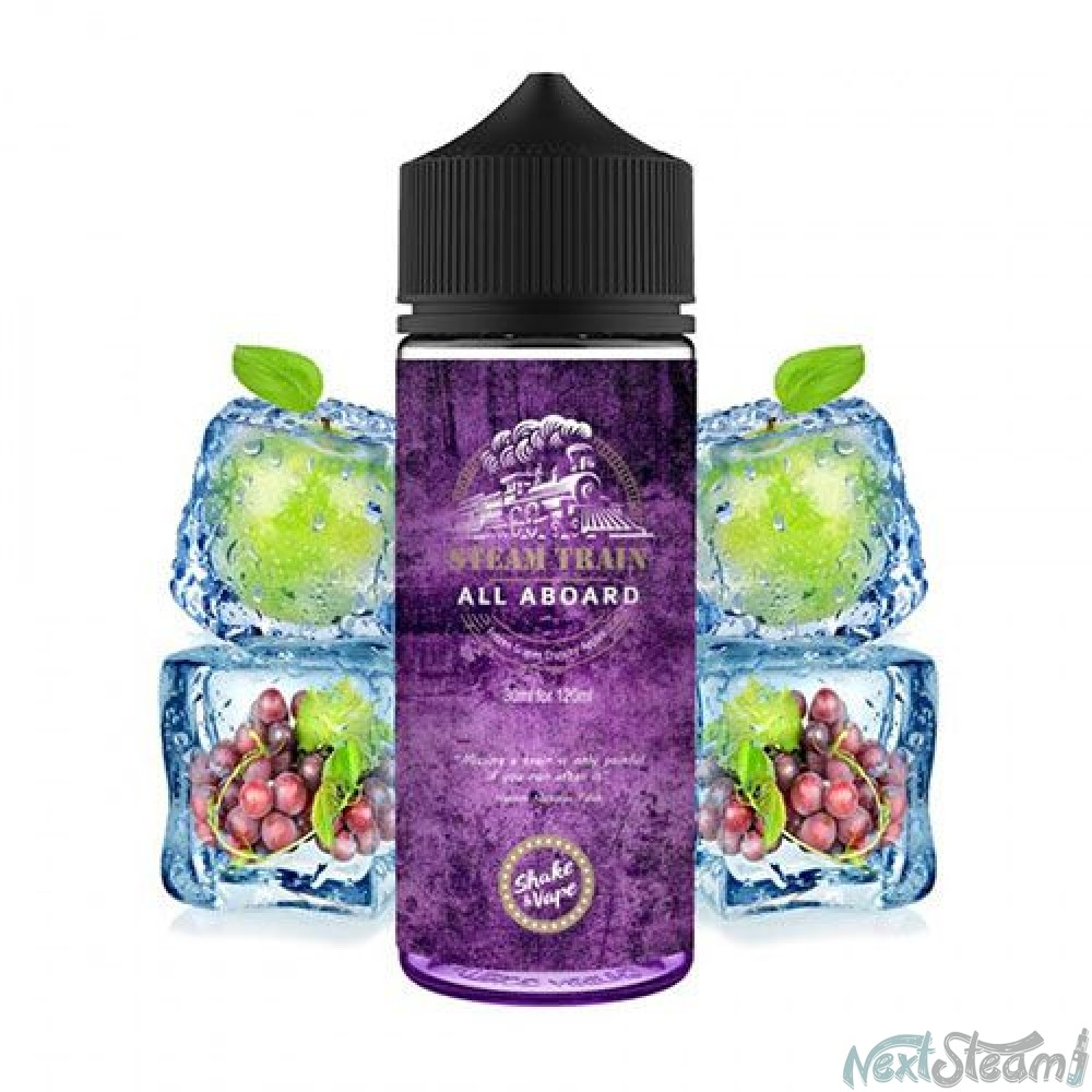 steam train - all aboard flavorshot 24/120ml