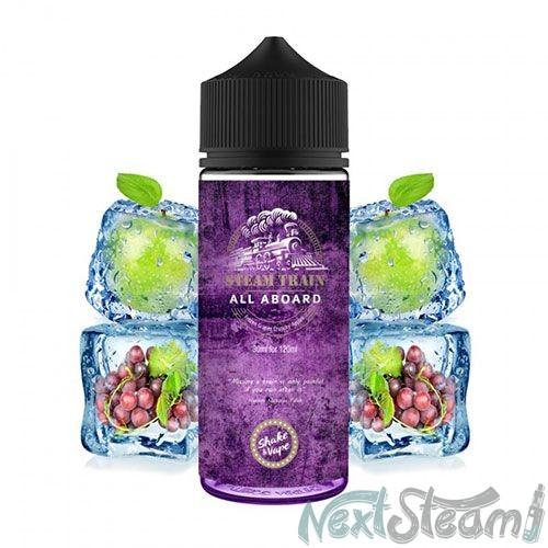steam train - all aboard flavorshot 24/120ml