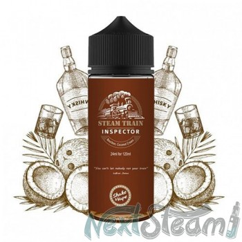 steam train - inspector flavorshot 24/120ml