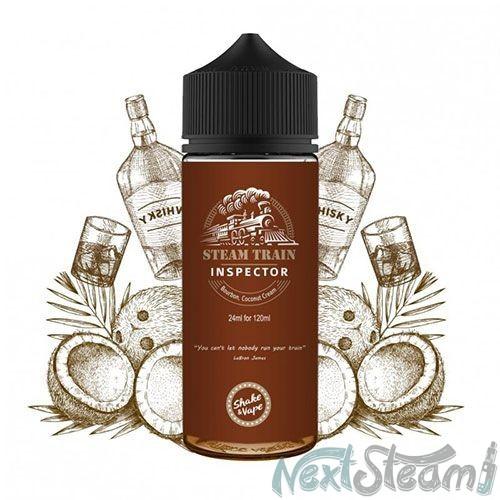 steam train - inspector flavorshot 24/120ml