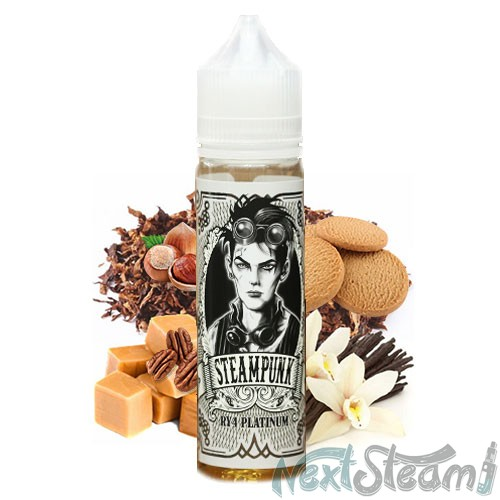 steampunk flavor shots - ry platinum 20/60ml