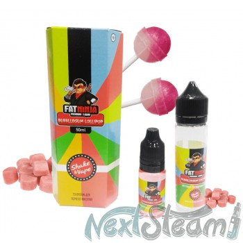 fat ninja - bubblegum lollipop flavor 10/50 ml