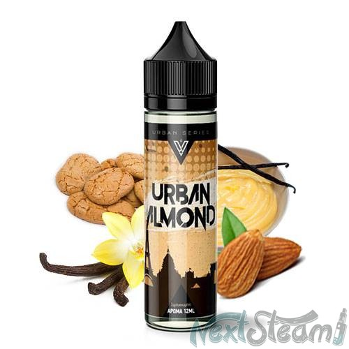vnv liquids - urban almond 12/60ml