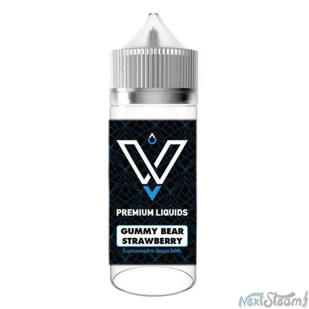 vnv premium liquids - gummy bear strawberry 24/120ml