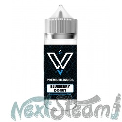 vnv premium liquids - blueberry donut 24/120ml